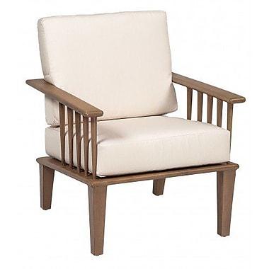Woodard Van Dyke Patio Chair w/ Cushions; Canvas Dusk