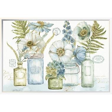 East Urban Home 'My Greenhouse Bouquet I' Framed Print; 20'' H x 30'' W