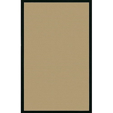 Longshore Tides Eastwood Beige/Black Area Rug; 8' x 10'