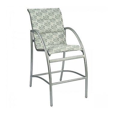 Woodard Tribeca Padded Stationary 29'' Bar Stool; Augustine Frost