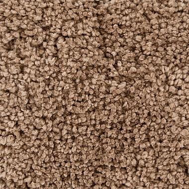 Orren Ellis Debbie Textured Contemporary Shag Brown Wool Area Rug; 5' x 7'6''