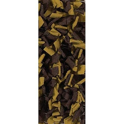 Loon Peak Leyva Brown/Yellow Area Rug; 2' x 3'