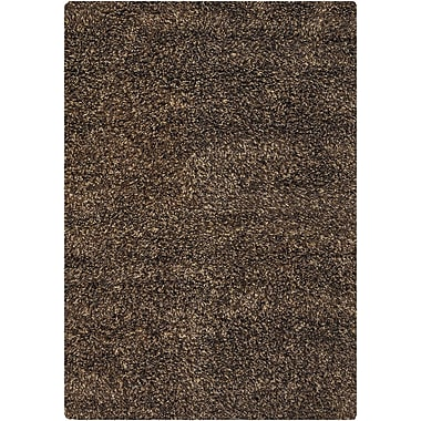 Loon Peak Barcenas Brown Area Rug; 7'9'' x 10'6''