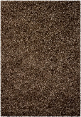 Loon Peak Lively Black/Gray Area Rug; Rectangle 2' x 3'