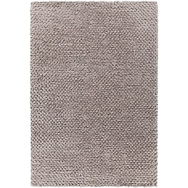 Red Barrel Studio Janey Hand-Woven Silver Area Rug; 7'9'' x 10'6''