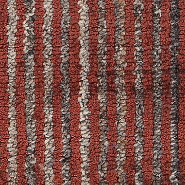 17 Stories Evodio Textured Contemporary Flatweave Rust Area Rug; 7'9'' x 10'6''