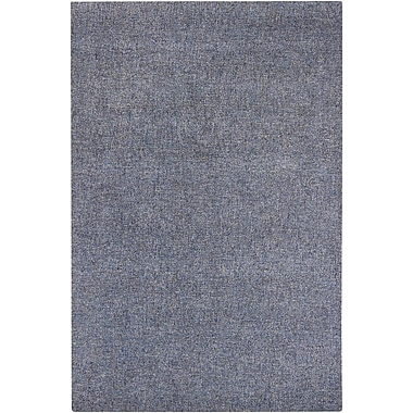 Winston Porter Barnaby Blue Rug; Rectangle 6' x 9'