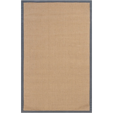 Breakwater Bay Wroblewski Brown/Gray Area Rug; Runner 2'6'' x 8'