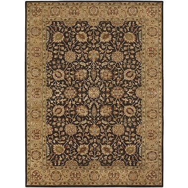 Astoria Grand Upney Chocolate Area Rug; 7'9'' x 10'6''