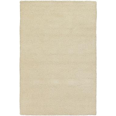 Winston Porter Barnaby White Rug; Rectangle 2' x 3'