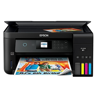 Epson Expression ET-2750 EcoTank All-In-One Printer (C11CG22201)