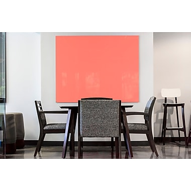 Egan Visual GlassWrite™ Colors, Peach Echo, Orange, 36x30 (DG3630CPE)