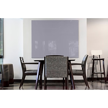 Egan Visual GlassWrite™ Colors, Lilac Gray, Grey, 60x48 (DG6048CLG)
