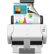 Brother ADS-2200 Wireless High-Speed Color Duplex Desktop Document Scanner with Touchscreen LCD (ADS-2200)