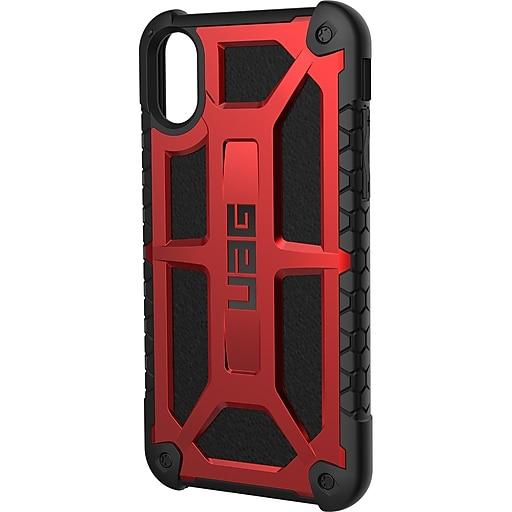 lowest price c7d6b de06f Urban Armor Gear UAG Crimson Cover for Apple iPhone X, Xs (IPHX-M-CR)
