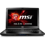"MSI GL62M 7RDX-2070 15.6"" LCD Notebook, Intel Core i7 i7-7700HQ Quad-core 2.80 GHz, 8 GB DDR4 SDRAM, 1 TB HDD, Windows 10"