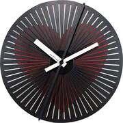 Brayden Studio Burwell Motion Heart 11.81'' Wall Clock