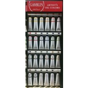 Gamblin 150ml Oil Paint Display Assortment