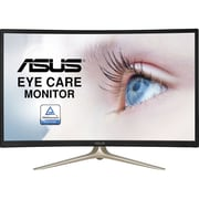 Asus VA327H 31.5-inch LCD VA Curved Screen Monitor, 1920 x 1080, 100000000:1, 4 ms