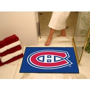 "Fanmats Officially Licensed Montreal Canadiens Floor Rug, 34"" x 43"", Blue (F0010403)"