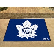 "Fanmats Officially Licensed Toronto Maple Leafs Floor Rug, 34"" x 43"", Blue (F0010440)"