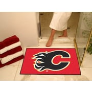 "Fanmats Officially Licensed Calgary Flames Floor Rug, 34"" x 43"", Red (F0010602)"