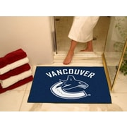 "Fanmats Officially Licensed Vancouver Canucks Floor Rug, 34"" x 43"", Blue (F0010449)"