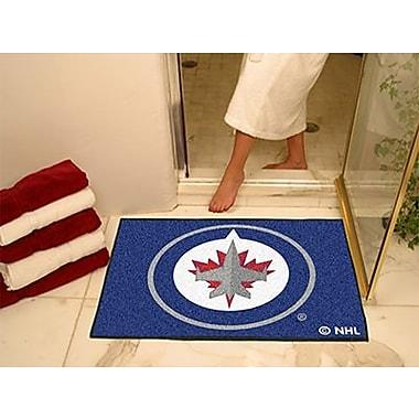 Fanmats Officially Licensed Winnipeg Jets Floor Rug, 34