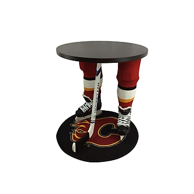 Team Tables Calgary Hockey Accent Table, Officially Licensed 27