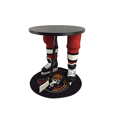 Team Tables Ottawa Hockey Accent Table, Officially Licensed 27