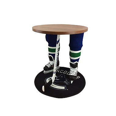 Team Tables Vancouver Hockey Accent Table, Officially Licensed 27