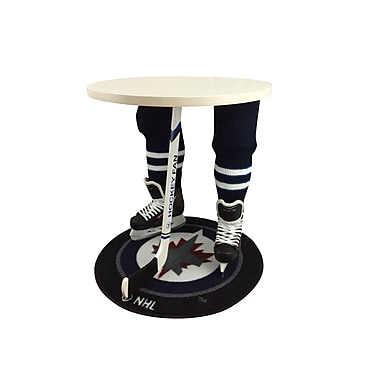 Team Tables Winnipeg Hockey Accent Table, Officially Licensed 27