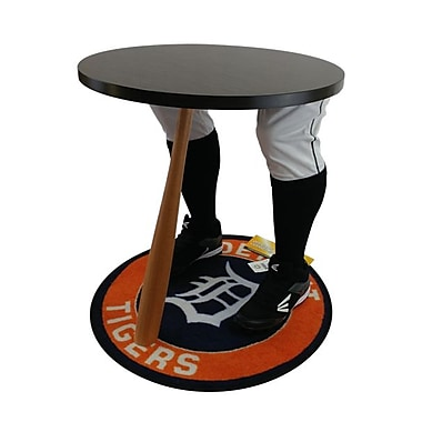 Team Tables Detroit Baseball Accent Table, Officially Licensed 27
