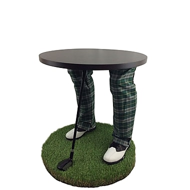 Team Tables Cape Breton Golf Accent Table, 24