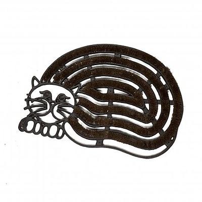 Red Barrel Studio Jeffery Cast Iron Cat Shaped Doormat WYF078282205166