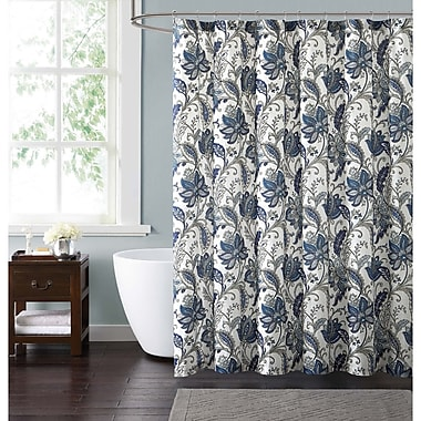 Red Barrel Studio Wali Floral Shower Curtain