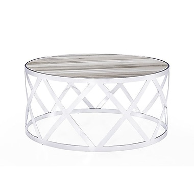 Blink Home Tribeca Coffee Table; White