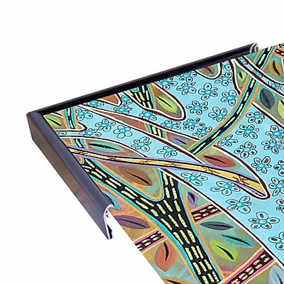 Winston Porter 'Abstract Trees 1' Print; Rolled Canvas