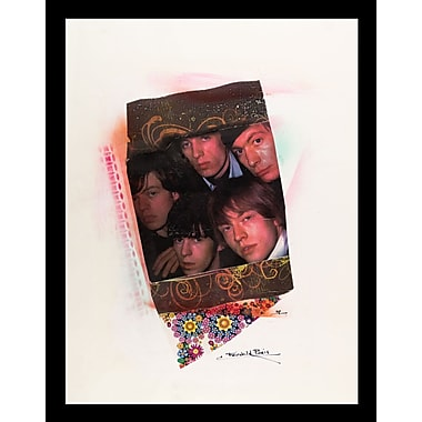 East Urban Home 'Rolling Stones' Framed Graphic Art Print