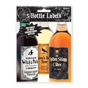 Amscan Halloween Party Bottle Labels (Set of 5)
