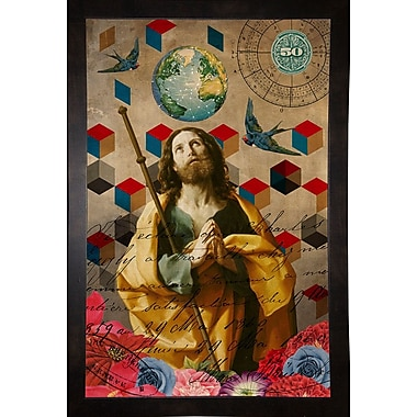 East Urban Home 'The Alchemist' Framed Graphic Art Print; Wrapped Canvas