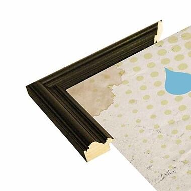 East Urban Home 'Childhood' Framed Graphic Art Print; Black Wood Grande Framed Paper