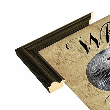 East Urban Home 'Where Did The Disco Go' Framed Graphic Art Print; Black Wood Grande Framed Paper