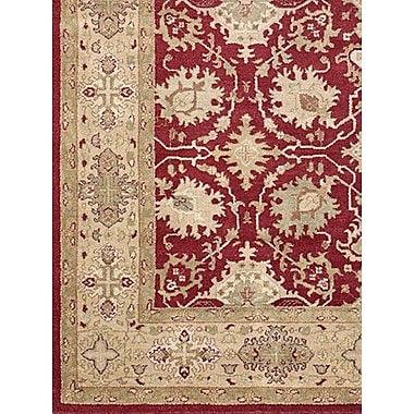 Astoria Grand Zambrano Hand Knotted Rectangle Area Rug; Rectangle 9' x 12'