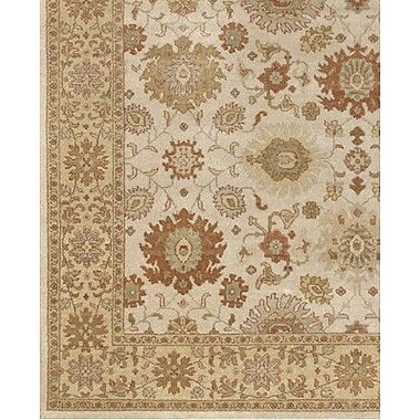 Astoria Grand Zambrano Hand Knotted Wool Area Rug; Rectangle 6' x 9'