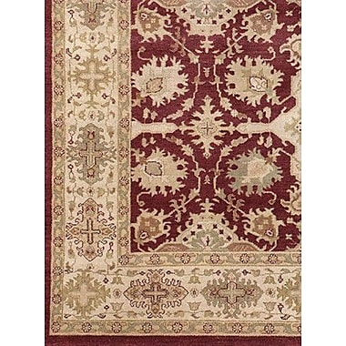 Astoria Grand Zambrano Hand Knotted Area Rug; Rectangle 8' x 10'
