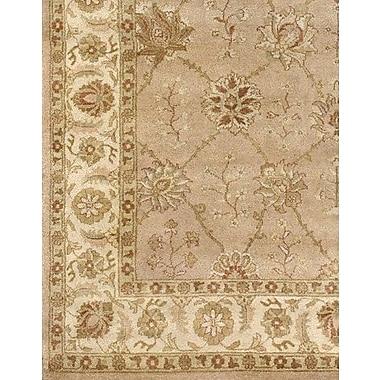 Astoria Grand Zambrano Wool Biege Area Rug; Rectangle 6' x 9'