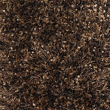 Brayden Studio Zucker Brown Area Rug; 7'9'' x 10'6''