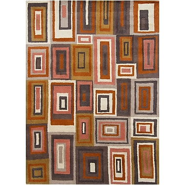 Corrigan Studio Carol Wool Area Rug; 7' x 10'