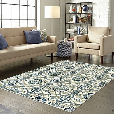 Charlton Home Landsdale Cream Area Rug; 2'6'' x 3'10''